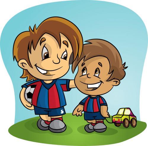 Niños haciendo deporte en caricatura - Imagui