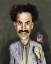 Cartoon: BORAT (small) by Danny Kohn tagged borat,caricature