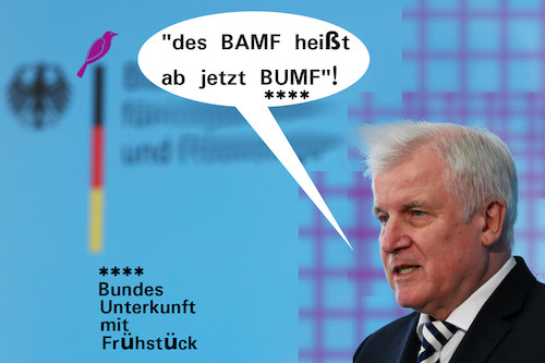 Cartoon: konsequenzen (medium) by ab tagged politik,deutschland,innen,seehofer,amt