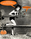 Cartoon: blanker Horror (small) by ab tagged halloween,horror,dresden,osten