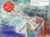 Cartoon: der rote planet (small) by ab tagged astronomie,mars,planet,energie