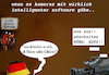 Cartoon: gesichtserkennung (small) by ab tagged brd,zdf,kamera,sachsen,pgida,afdepp,lka,bolizei,dumpfbacken,demo