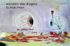 Cartoon: im Alter (small) by ab tagged auge