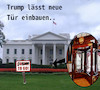 Cartoon: konsequent (small) by ab tagged trump,white,house,to,go