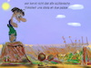 Cartoon: sommermelodie (small) by ab tagged lalala,tralala,italia,sicilia