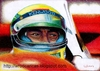 Cartoon: Ayrton Senna (small) by WROD tagged ayrton,senna