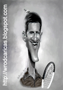 Cartoon: Novak Djokovic (small) by WROD tagged novak,djokovic