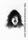 Cartoon: Paul Stanley (small) by WROD tagged paul,stanley,kiss
