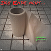 Cartoon: Endzeitstimmung (small) by Night Owl tagged klopapier,toilettenpapier,lavatory,paper,bathroom,tissue,endzeit,apocalyptic,mood