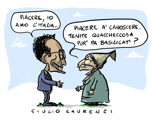 Cartoon: Magdi (medium) by Giulio Laurenzi tagged magdi