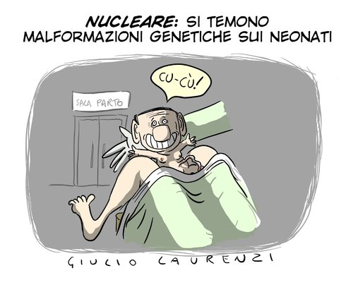 Cartoon: Malformazioni (medium) by Giulio Laurenzi tagged malformazioni