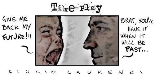 Cartoon: Time Play (medium) by Giulio Laurenzi tagged time,life