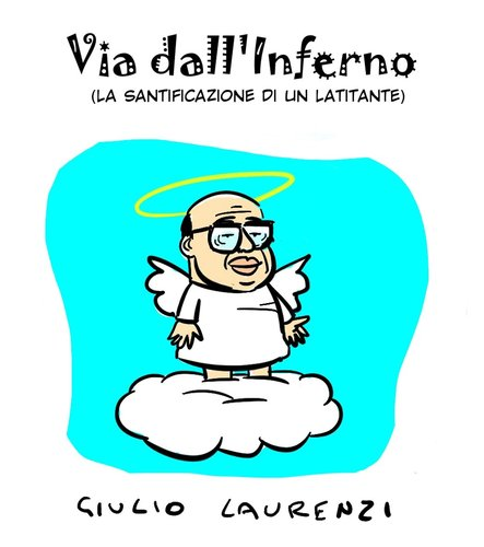 Cartoon: Via Craxi (medium) by Giulio Laurenzi tagged via,craxi,inferno