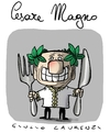 Cartoon: Cesare Magno (small) by Giulio Laurenzi tagged cesare,magno,berlusconi