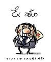 Cartoon: Ex Voto (small) by Giulio Laurenzi tagged ex,voto,berlusconi,italy