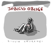 Cartoon: Jobless (small) by Giulio Laurenzi tagged jobless