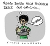 Cartoon: l anello mancante (small) by Giulio Laurenzi tagged italia