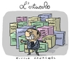 Cartoon: l ostacolo (small) by Giulio Laurenzi tagged italia,berlusconi