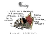 Cartoon: Misery (small) by Giulio Laurenzi tagged misery
