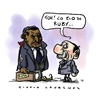 Cartoon: Parentele (small) by Giulio Laurenzi tagged berlusconi,mubarak,egypt