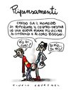 Cartoon: Ripensamenti (small) by Giulio Laurenzi tagged ripensamenti