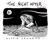 Cartoon: The Night After (small) by Giulio Laurenzi tagged haiti 2010 earthquake