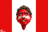 Cartoon: Redface Justin Trudeau (small) by Bart van Leeuwen tagged blackface,justin,trudeau,canada,brownface,redface