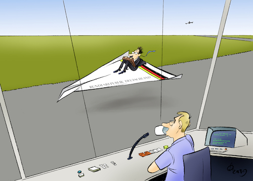 Cartoon: Air Falz One (medium) by Paolo Calleri tagged deutschland,regierung,regierungsflieger,bundesaussenminister,heiko,maas,mali,bundeskanzlerin,bundesentwicklungsminister,panne,defekt,karikatur,cartoon,paolo,calleri,deutschland,regierung,regierungsflieger,bundesaussenminister,heiko,maas,mali,bundeskanzlerin,bundesentwicklungsminister,panne,defekt,karikatur,cartoon,paolo,calleri