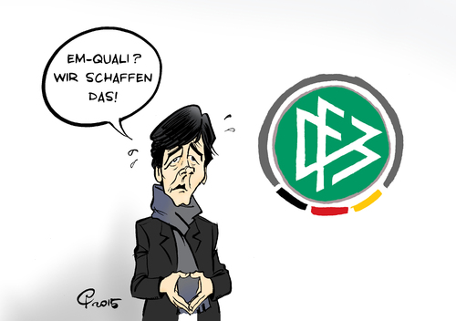 Cartoon: EM-Quali (medium) by Paolo Calleri tagged eu,deutschland,sport,fussball,em,europameisterschaft,qualifikation,frankreich,2016,dfb,jogi,loew,irland,nationalmannschaft,karikatur,cartoon,paolo,calleri,eu,deutschland,sport,fussball,em,europameisterschaft,qualifikation,frankreich,2016,dfb,jogi,loew,irland,nationalmannschaft,karikatur,cartoon,paolo,calleri