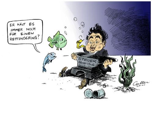 Kleine fische by paolo calleri politics cartoon toonpool for Kleine fische