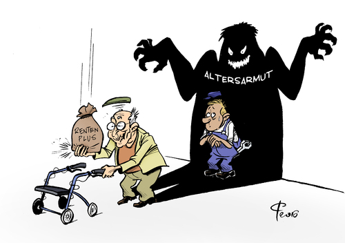 Cartoon: Schattiges Plätzchen (medium) by Paolo Calleri tagged deutschland,renten,rentenplus,anstieg,armut,altersarmut,generationen,jung,alt,rentenniveau,lohnentwicklung,lohnsteigerung,karikatur,cartoon,paolo,calleri,deutschland,renten,rentenplus,anstieg,armut,altersarmut,generationen,jung,alt,rentenniveau,lohnentwicklung,lohnsteigerung,karikatur,cartoon,paolo,calleri