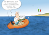 Cartoon: Getriebener (small) by Paolo Calleri tagged eu,deutschland,bayern,bundesinnenminister,horst,seehofer,masterpaln,migration,asyl,asylbewerber,fluechtende,fluechtlinge,grenzen,rueckfuehrungen,transferzentren,transitzentren,asylkonflikt,asylstreit,union,cdu,csu,koalition,landtagswahl,populismus,italien,registrierungen,politik,cartoon,karikatur,paolo,calleri