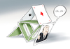 Cartoon: House of cards (small) by Paolo Calleri tagged usa,film,fernsehen,streaming,netflix,schauspieler,kevin,spacey,missbrauch,skandal,missbrauchsskandal,entlassung,sexismus,karikatur,cartoon,paolo,calleri