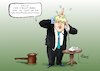 Cartoon: Illegale Zwangspause (small) by Paolo Calleri tagged eu,uk,gb,vereinigtes,koenigreich,grosbritannien,brexit,premier,premierminister,boris,johnson,parlament,zwangspause,austritt,gemeinschaft,oktober,no,deal,abgeordnete,gericht,supreme,court,illegal,cartoon,karikatur,paolo,calleri