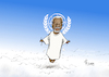 Cartoon: Kofi Annan 1938-2018 (small) by Paolo Calleri tagged welt,nationen,un,vereint,united,nations,generalsekretaer,secretary,general,kofi,annan,tod,karikatur,cartoon,paolo,calleri
