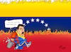 Cartoon: Putschversuch in Venezuela (small) by Paolo Calleri tagged amerika,venezuela,putsch,versuch,opposition,oppositionsfuehrer,guaido,lopez,befreiung,militaer,soldaten,unruhen,gewalt,maduro,krise,konflikte,demokratie,usa,karikatur,cartoon,paolo,calleri