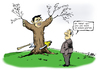 Cartoon: Robust (small) by Paolo Calleri tagged fdp,liberale,parteitag,philipp,roesler,vorsitzender,parteichef,wirtschaftsminister,vizekanzler,wiederwahl,fuehrungsdebatte,wahlkampf,karikatur,paolo,calleri