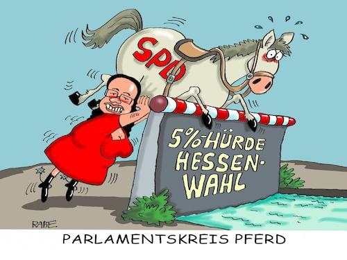 Parlamentskreis Pferd