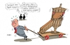 Cartoon: Der Prediger (small) by RABE tagged martin,schulz,spd,sondierung,sonderparteitag,mitgliederbefragung,groko,neuwahlen,rabe,ralf,böhme,cartoon,karikatur,pressezeichnung,farbcartoon,tagescartoon,kanzel,segen,prediger,pfarrer,union,merkel,cdu,csu,seehofer,jusos,linke