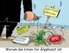 Cartoon: Glyphosat (small) by RABE tagged sigmar,gabriel,spd,opposition,groko,flüxchtlingskrise,sozialleistungen,rabe,ralf,böhme,cartoon,karikatur,pressezeichnung,farbcartoon,tagescartoon,füllhorn,fortuna,gießkanne,gießkannenprinzip,streit,glyphosat,unkrautex,unkrautvernichtungsmittel,loalitionsg