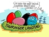 Cartoon: Landtagseier (small) by RABE tagged afd,alternative,für,deutschland,cdu,bundesparteitag,merkel,thüringen,mohring,rabe,ralf,böhme,cartoon,karikatur,pressezeichnung,farbcartoon,tagescartoon,abgrenzung,rechts,rechtslastig,landtagsfraktion,linke,rot,grün,bruch,osternest,ostereier,zersplitterung