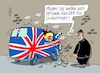 Cartoon: Super Wagenlenker (small) by RABE tagged brexit,no,deal,johnson,boris,downing,street,austritt,eu,brüssel,london,rabe,ralf,böhme,cartoon,karikatur,pressezeichnung,farbcartoon,tagescartoon,may,juncker,luxemburg,klobecken,wagen,wand,crash,januar