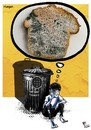 Cartoon: HUNGER (small) by FadiToOn tagged human,rights