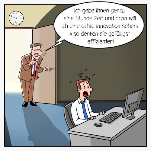 Innovation vs Effizienz