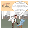 Cartoon: Chatbot Trainingscenter (small) by CloudScience tagged chatbot,chatbots,bots,automatisierung,kundenservice,hotline,callcenter,training,digitalisierung,digital,zukunft,automatisch,ki,kuenstliche,intelligenz,sprachbot,technik,tech,technologie,disruption,arbeit,roboter,business,wirtschaft,ai,kunde,verbraucher,servicecenter,it