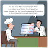 Cartoon: Digitale Kreditprüfer (small) by CloudScience tagged kreditvergabe,kredit,bank,banken,finanzen,wirtschaft,business,fintec,algorithmen,ki,kuenstliche,intelligenz,ai,geschaeftsmodell,daten,data,minning,deep,learning,machinelles,lernen,big,kostenlos,plattform,beratung,rentabel,wirtschaftlichkeit,pruefung,digitalisierung,digital,disruption,digitale,transformation,moeller,illustration,cartoon,gesellschaftskritik,money,geld