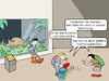 Cartoon: Pokemon Go (small) by CloudScience tagged sammelfieber,nintendo,app,augmeted,reality