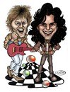 Cartoon: Modern Talking (small) by DeVaTe tagged modern,talking