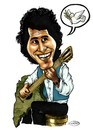 Cartoon: Victor Jara (small) by DeVaTe tagged chilean,victor,jara,dictadura,guitarra,revolucionario