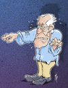 Cartoon: Bernie (small) by stip tagged bernie,sanders,democrat,independent,usa,elections